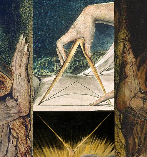 A selection of artwork by William Blake
