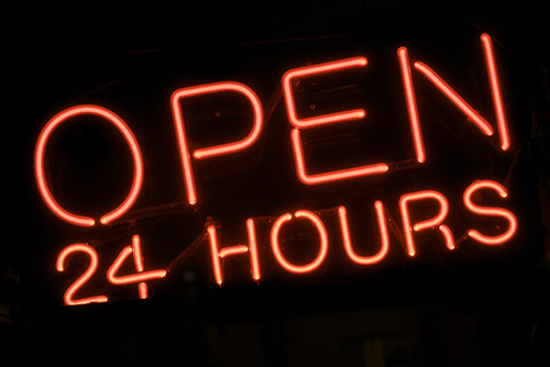 Storage Facility open 24 hours