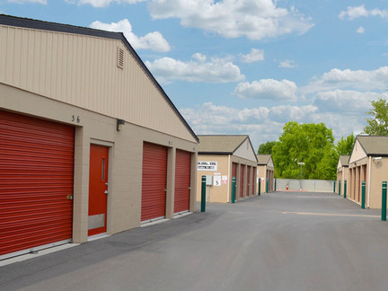 Drive Up Access Self Storage Units