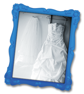 Wedding dress protection and storage