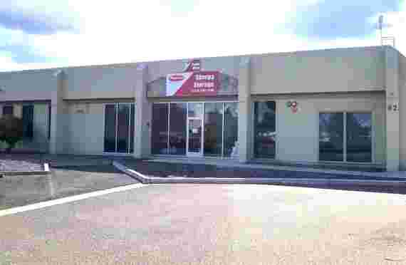 Image of Front Entrance of North Mines Self Storage, Livermore, CA