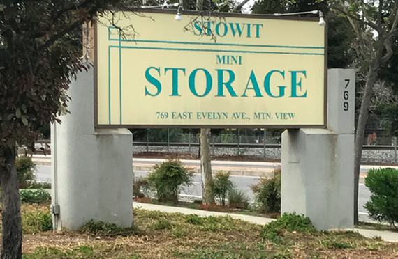 Storage Units In Mountain View Ca 769 E Evelyn Ave Storagepro