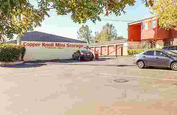 Image Of Exterior Parking Only Space In Copper Knoll Self Storage - Auburn, CA