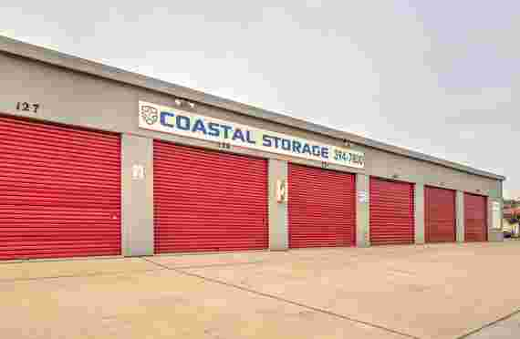 Image Of Outside Driveway Storage Unit In Coastal Storage in Sand City, CA