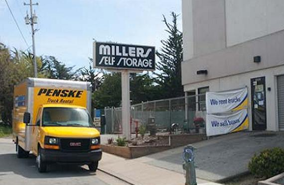 Storage Units Monterey/302 Ramona Avenue & Millers Self Storage - 302 Ramona Avenue Monterey CA ...