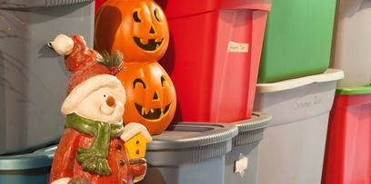 Use moisture-proof containers for your holiday storage needs | Stor-Mor