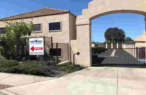 Image Of Front Entrance To Fort Locks Self Storage - Grover Beach, CA