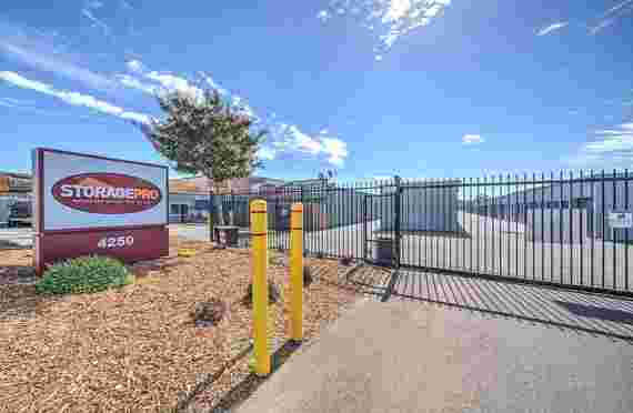 Image of Outside Entrance Gate In StoragePRO North Highlands, CA
