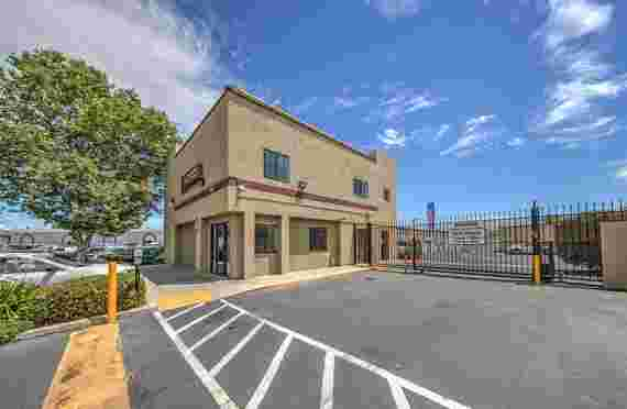Image of Front Security Gated Entrance To Self Storage Facility - Antioch, CA