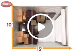 10x15 storage unit video