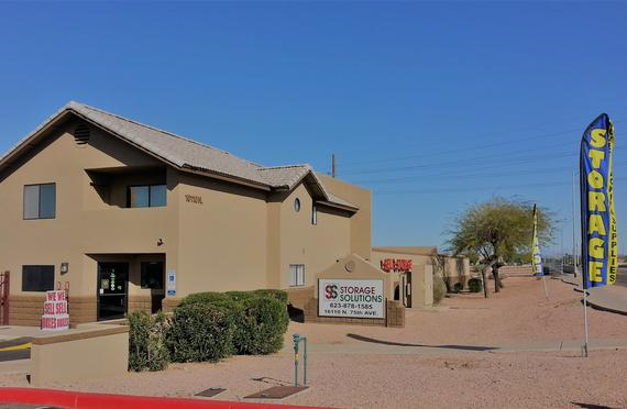 Storage Units Peoria/16110 N 75th Ave & 75th Avenue Storage Solutions - 16110 N 75th Ave Peoria AZ ...