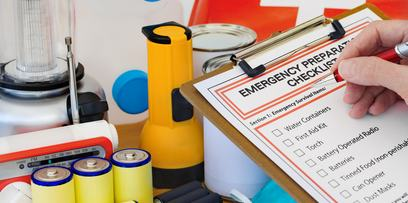 Pack medical supplies into storage to help treat injuries during an emergency | Central Coast