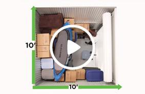 10x10 storage unit video