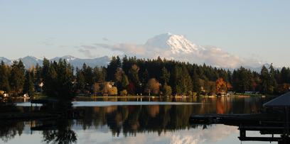 Bonney Lake is known for its weather and great storage | Uncle John's RV Park