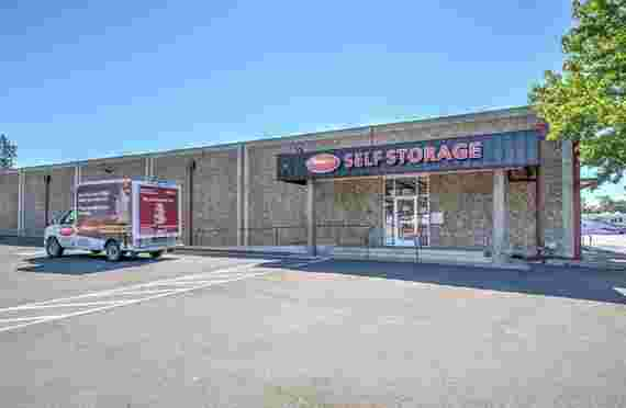 Image of Outside Front Door Entrance In StoragePRO Self Storage of Napa, CA