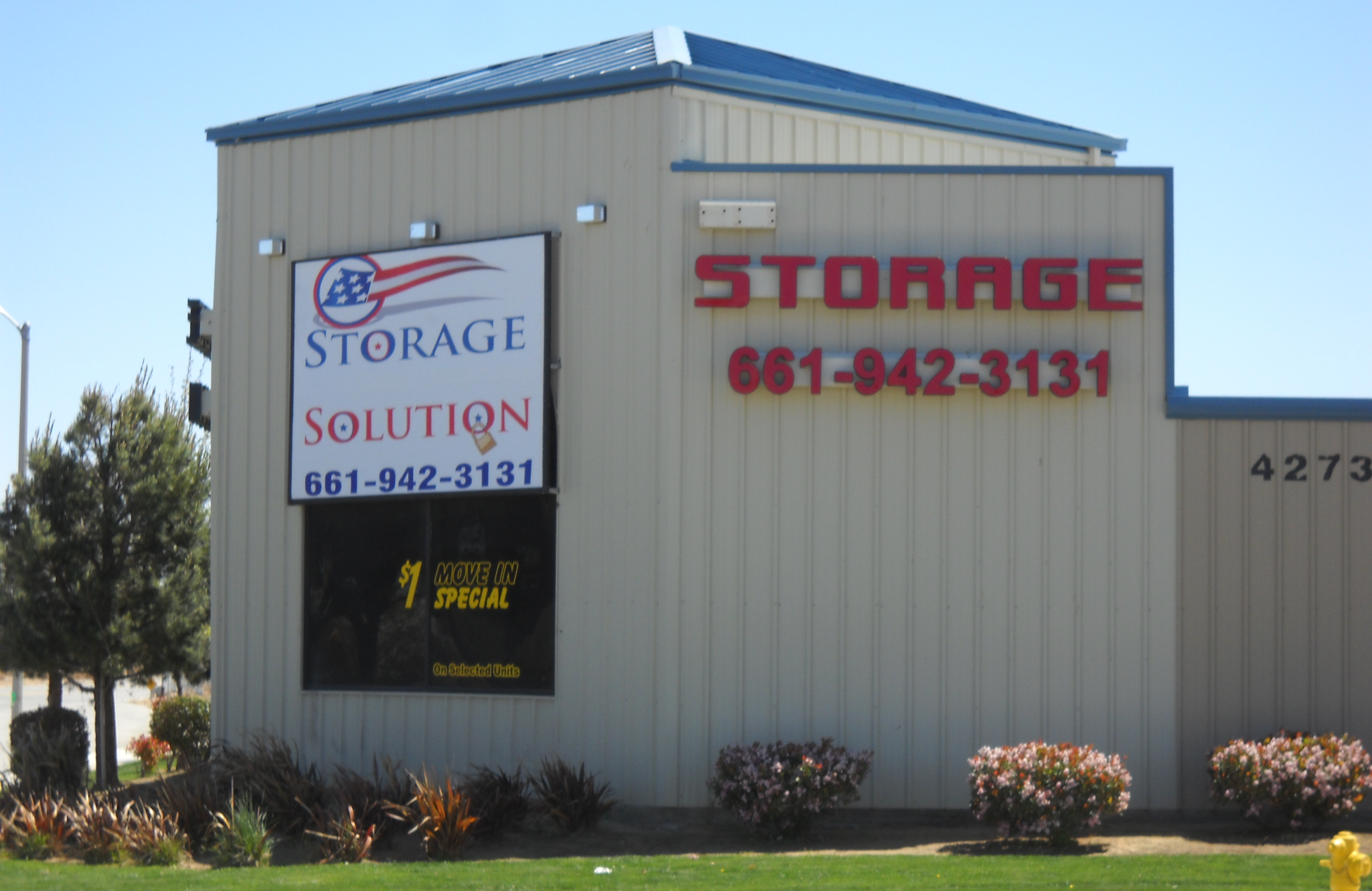Storage Units In Lancaster Ca 42738 4th Street East