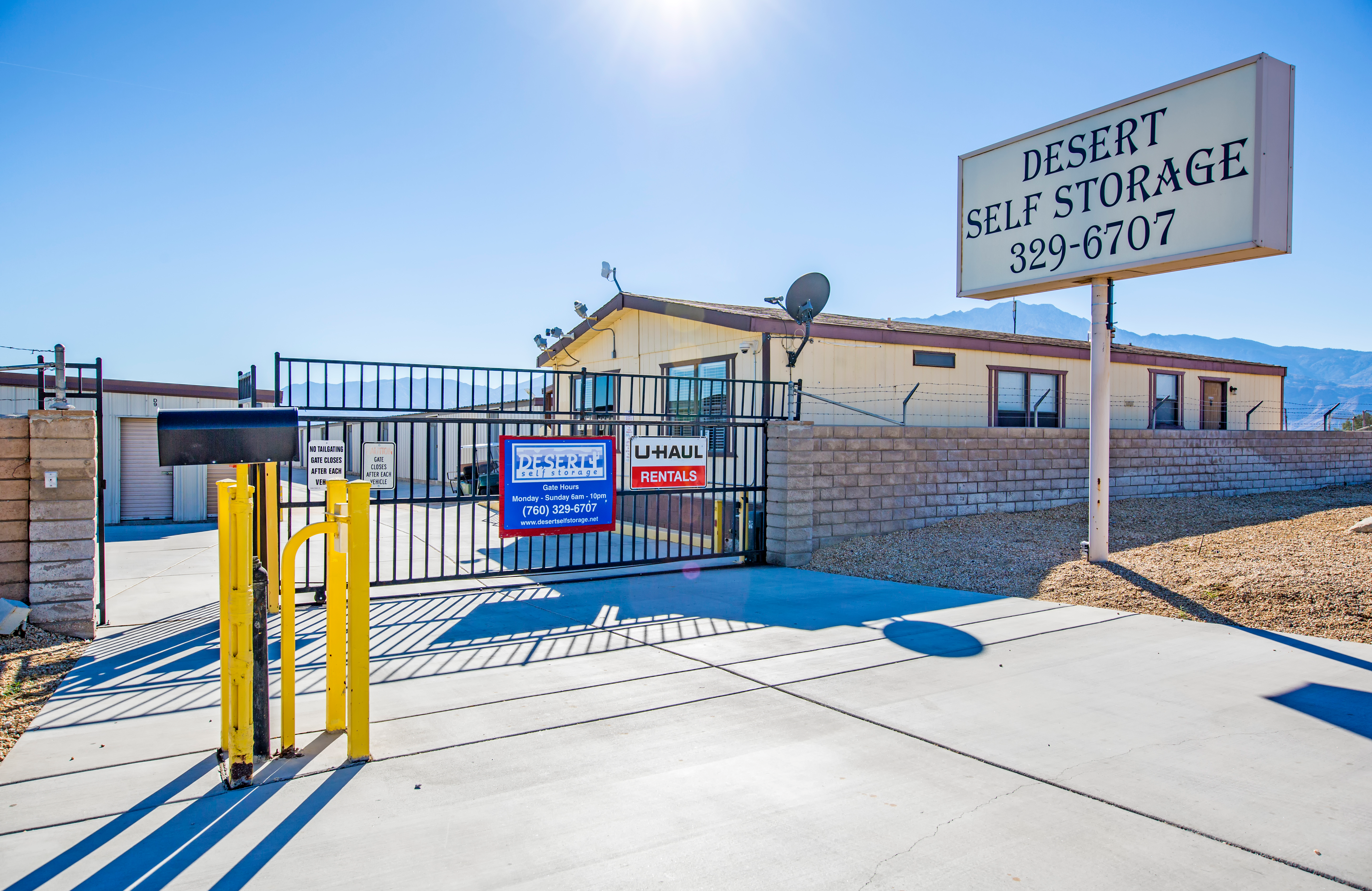 Storage Units In Desert Hot Springs, CA | 66251 Dillon Rd | StaxUP Self  Storage