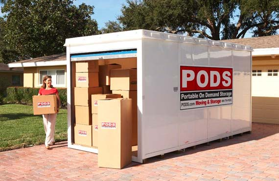 PODS Moving Storage Long Island NY StorageFrontcom